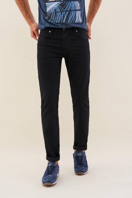 Salsa Jeans - Dark Blue Wash Navarro Straight Jeans, Men