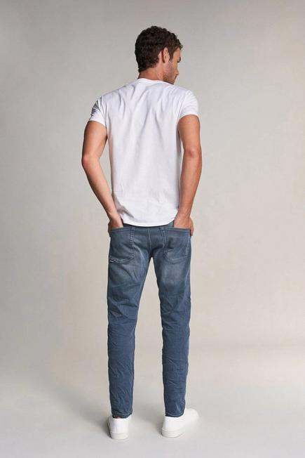 Salsa Jeans - Blue Slender slim carrot jeans in medium rinse