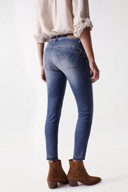 Salsa Jeans - Blue Wonder push up cropped jeans