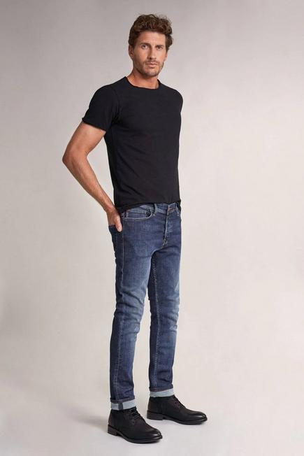 Salsa Jeans - Blue Slender slim carrot rip-proof jeans