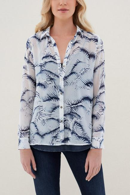 Salsa Jeans - White Tunic With Floral Print, Women
