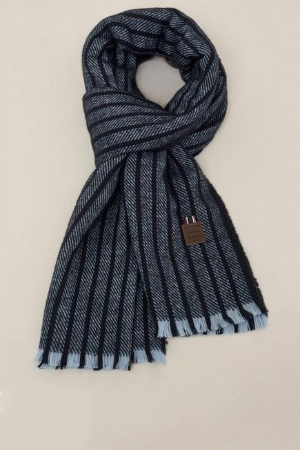 Salsa Jeans - Blue Striped scarf