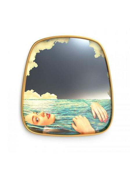 Seletti - Toiletpaper Mirror Sea Girl