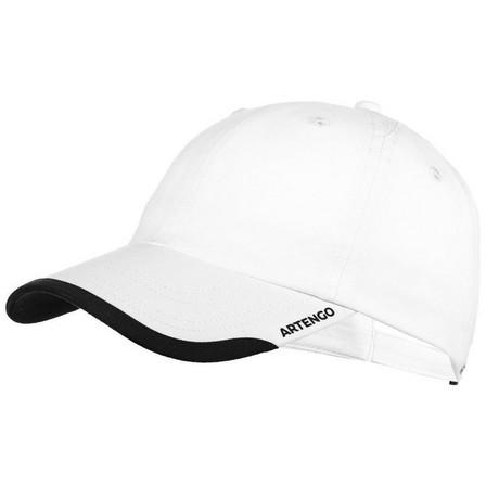 ARTENGO - Adult  Flexible Tennis Cap TC 100 S58 - Navy, Snow White