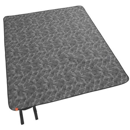 QUECHUA - Unique Size  Camping and Hiking Blanket - 140 x 170 cm, Granite