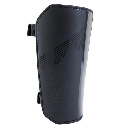 KIPSTA - Extra Large  Adult Football Shin Pads F100 - Black, Black