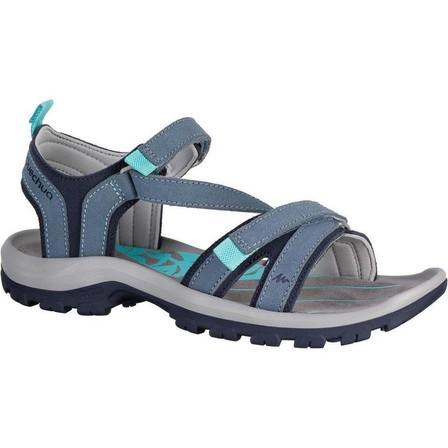 QUECHUA - EU 39  Walking sandals - NH120 - Women's, Linen