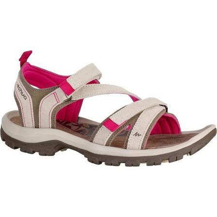 QUECHUA - EU 42  Walking sandals - NH120 - Women's, Linen