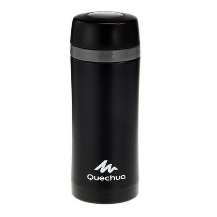 QUECHUA - Unique Size  Insulated stainless steel hikers mug 0.35 litre - Red, Red