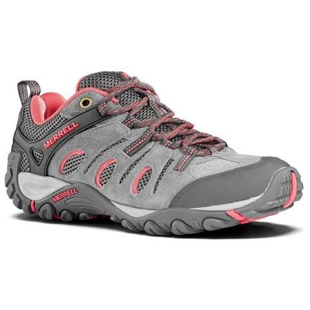 MERRELL - EU 38  Women's Mountain Walking Shoes - MERRELL CROSSLANDER - Grey/Pink, Default
