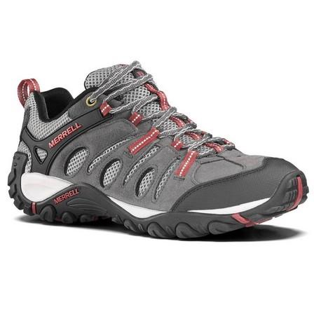 MERRELL - EU 43  Men's Mountain Walking Shoes - Merrell Crosslander - Grey, Light Grey