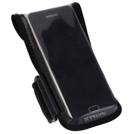 BTWIN - Unique size  500 Smartphone Bike Holder, Black