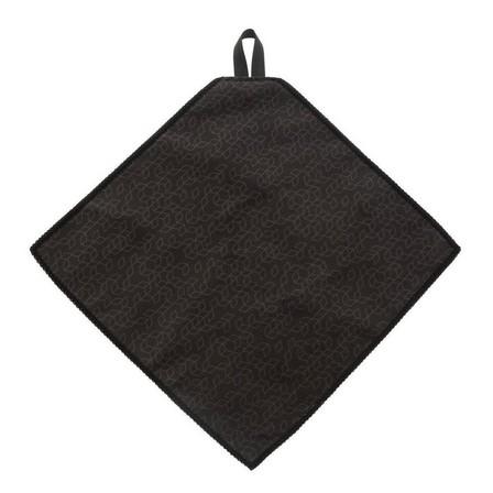 QUECHUA - Unique Size  Microfibre cleaning cloth - CLEAN 100, Dark Grey