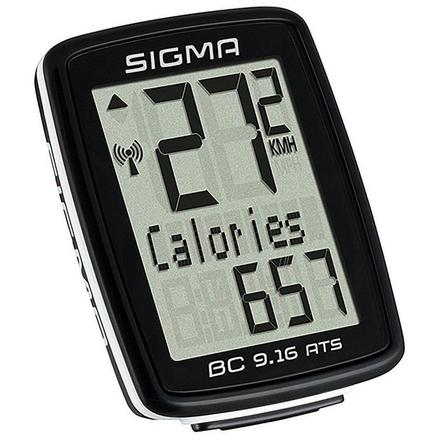 SIGMA SPORT - Unique Size  BC 9.16 ATS Wireless Cyclometer, Black