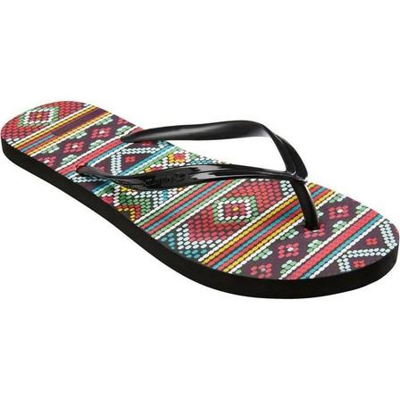 OLAIAN - EU 35-36  TO 100S PRINT women's flip-flops - Maupiti, Black