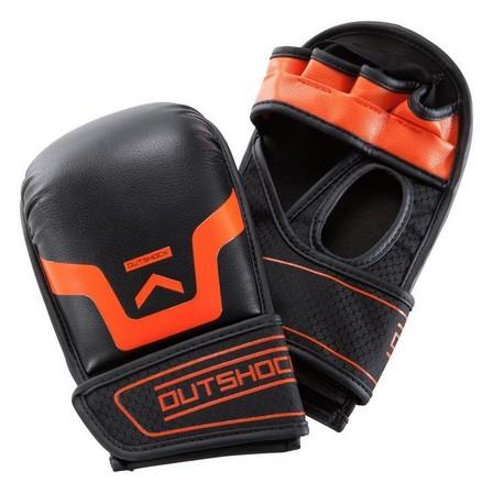 OUTSHOCK - Extra Large  500 Self-Defence Gloves - Black, Black