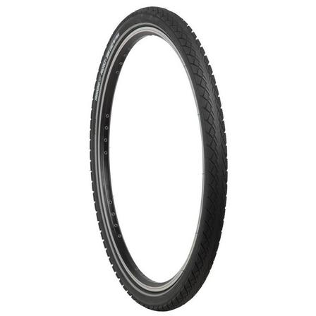 BTWIN - Unique Size  Trekking Grip Protect+ Hybrid Bike Tyre - 26x1.75, Default