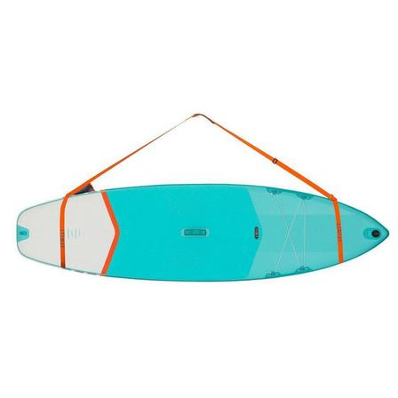 ITIWIT - Unique size  INFLATABLE OR RIGID STAND-UP PADDLE CARRY STRAP, Mandarine