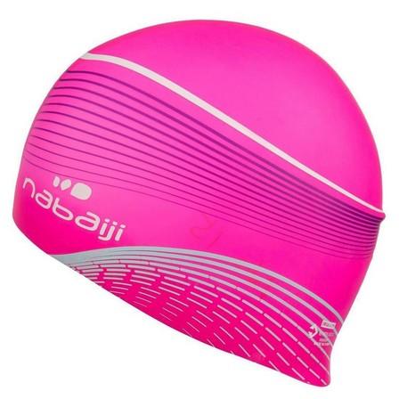 NABAIJI - Adult  SILICONE AUSTRALIA 950 SWIM CAP, Fluo Peach