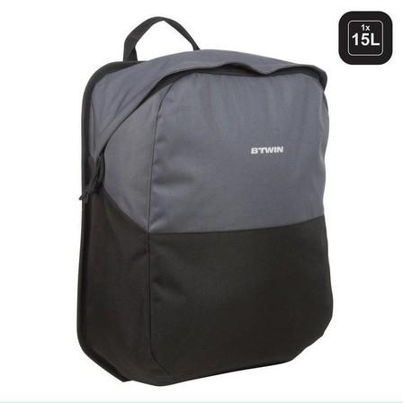 ELOPS - Unique Size  100 Pannier Rack Bike Bag 15L, Black