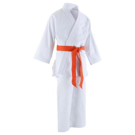 OUTSHOCK - 130 cm  Hirosaki 3500 Kids' Judo Gi, Snow White