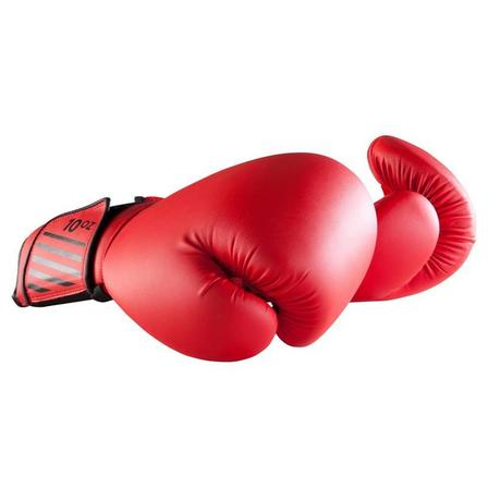 OUTSHOCK - 6 Oz  Beginner Boxing Gloves 100 - Red, Cherry Red