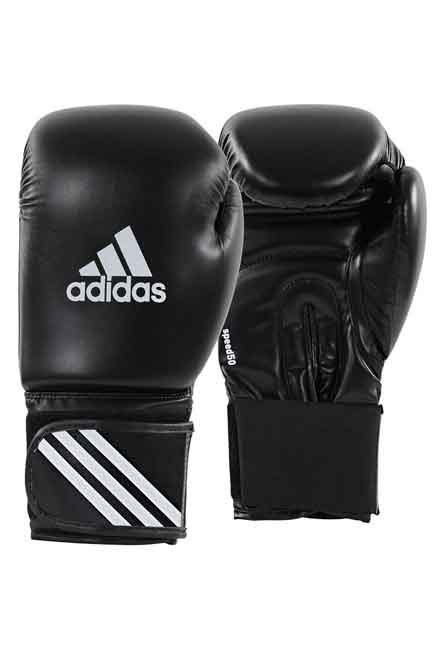 ADIDAS - 10 Oz  Beginners' Boxing Kit: Gloves, Wraps, Mouthguard, Black