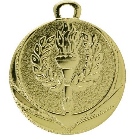 BIEMANS - Unique Size  Victory Medal 32mm - Gold, Default