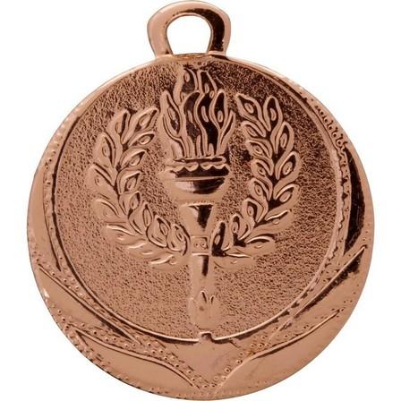 BIEMANS - Unique Size  Victory Medal 32mm - Bronze, Default