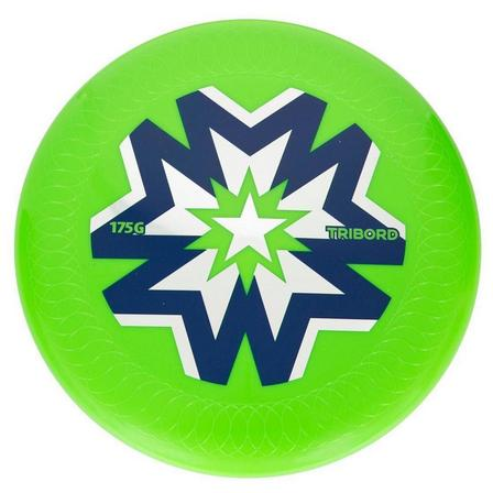 OLAIAN - Unique Size  Flying Disc D175 Ultimate, Fluo Green
