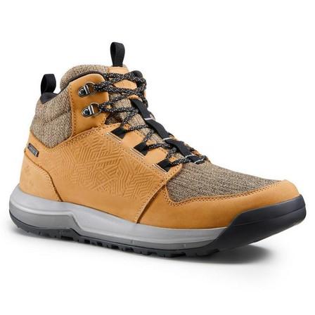 QUECHUA - EU 39  Men's waterproof off-road hiking shoes NH500 Mid WP, Cinnamon