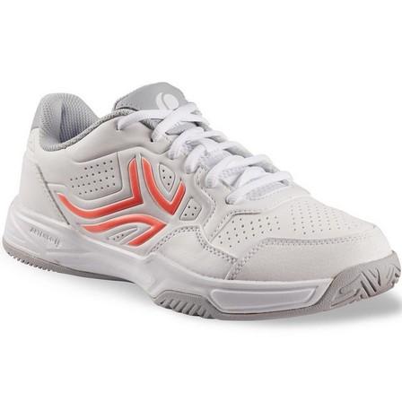 ARTENGO - EU 36  TS 190 Women's Tennis Shoes, Snow White