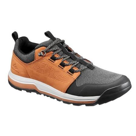 QUECHUA - EU 40  Men's Country Walking Shoes - NH500, Hazelnut