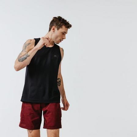KALENJI - Medium  KALENJI DRY MEN'S RUNNING BREATHABLE TANK TOP, Black