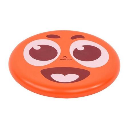 OLAIAN - Unique Size  DSoft Frisbee - Flag, Fluo Orange