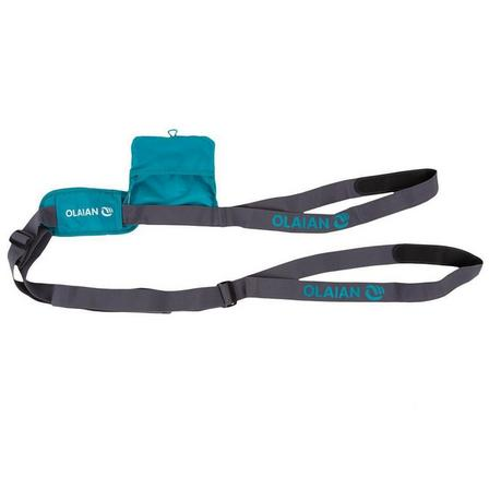 OLAIAN - Unique Size  CARRYING STRAP for Surf and Longboard, Dark Peacock Blue