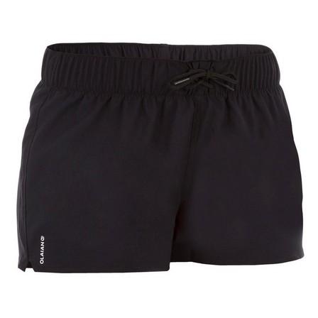 OLAIAN - Large  Tana Women's Boardshorts - Black, Black