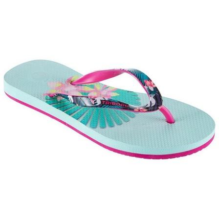 OLAIAN - EU 31-32  TO 500 G Sun Girls' Flip-Flops, Pale Mint