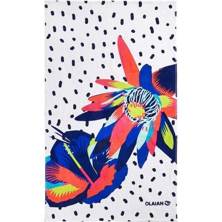 OLAIAN - Unique Size  TOWEL L 145 x 85 cm - PRINT Street, Multi Colour