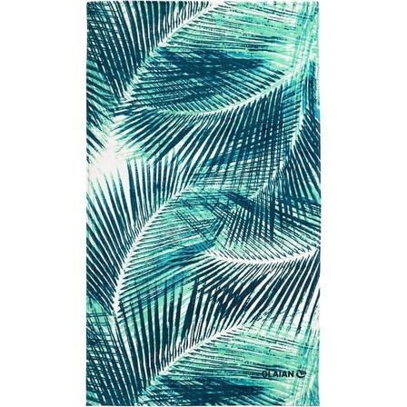OLAIAN - Unique Size  TOWEL L 145 x 85 cm - PRINT Street, Turquoise