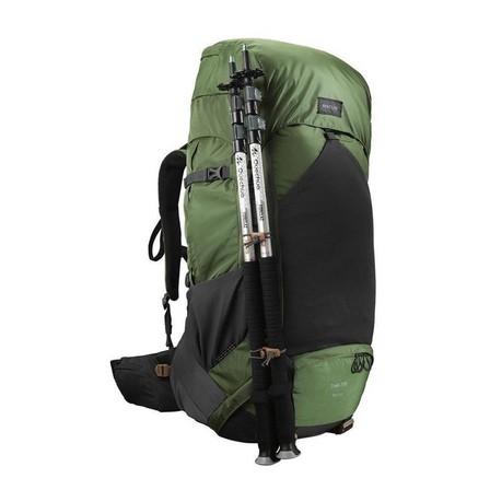 FORCLAZ - 70L  Men's mountain trekking rucksack | TREK 500 70+10L - olive, Dark Olive Green