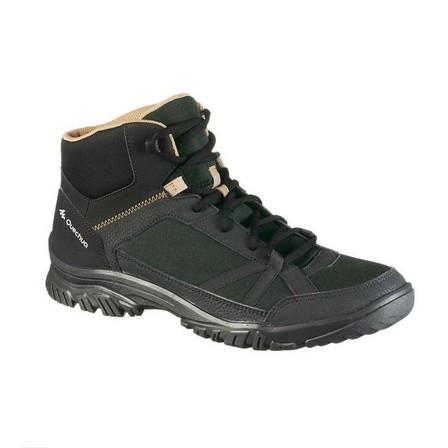 QUECHUA - EU 45  Men's Country walking boots – NH100 Mid, Black