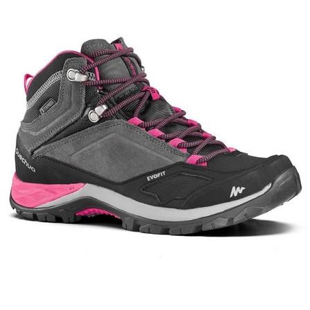 QUECHUA - EU 38  Women's waterproof mountain walking boots - MH500 Mid, Granite