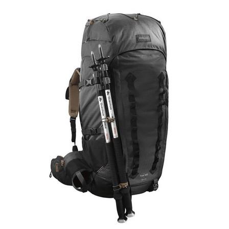 FORCLAZ - Unique Size  Men's mountain trekking rucksack | TREK 900 Symbium 70+10L - Dark Grey, Carbon Grey