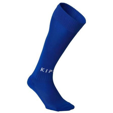 KIPSTA - EU 45-47  F100 Adult Football Socks, Bright Indigo