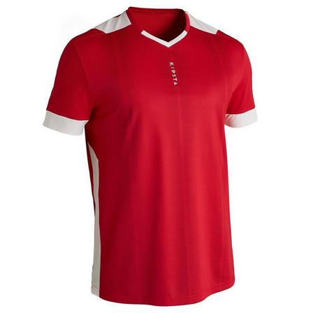 KIPSTA - Large  F500 Adult Football Jersey, Scarlet Red
