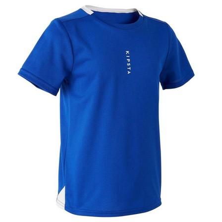 KIPSTA - 12-13 Years  F100 Junior Football Shirt, Bright Indigo
