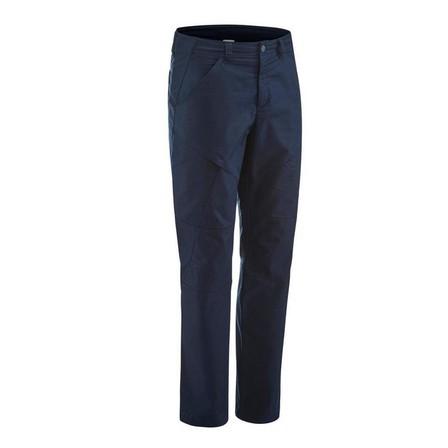 QUECHUA - W42 L34  Men's NH500 Regular off-road hiking trousers, Asphalt Blue