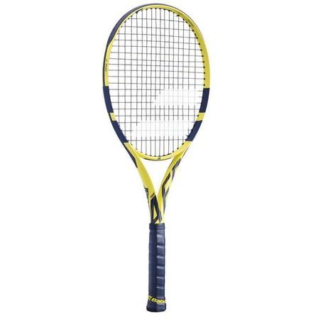 BABOLAT - Grip 3  Pure Aero Adult Tennis Racket - Yellow, Yellow