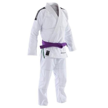 OUTSHOCK - A0 155-165cm  500 Brazilian Jiu-Jitsu Adult Uniform, Snow White